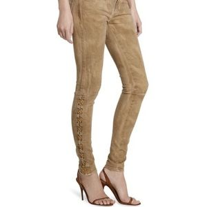 Polo Ralph Lauren Tompkins Skinny Jeans Lace Dye